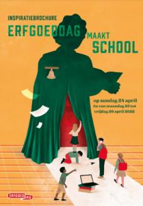 inspiratiebrochure Erfgoeddag maakt School